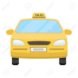 se necesita conductor de taxi que viva al sur