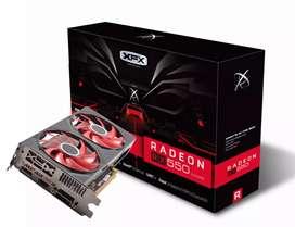 Vendo XFX Rx 550 4 GB GDDR5