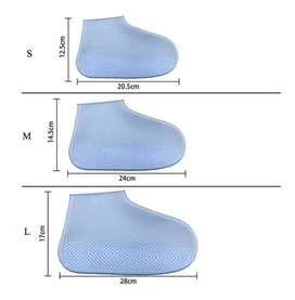 Zapato Para Lluvia 100% Impermeable En Silicona De Color