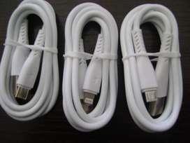 CABLES DE DATOS USB CARGA RAPIDA TIPO C, 6G y iPHONE