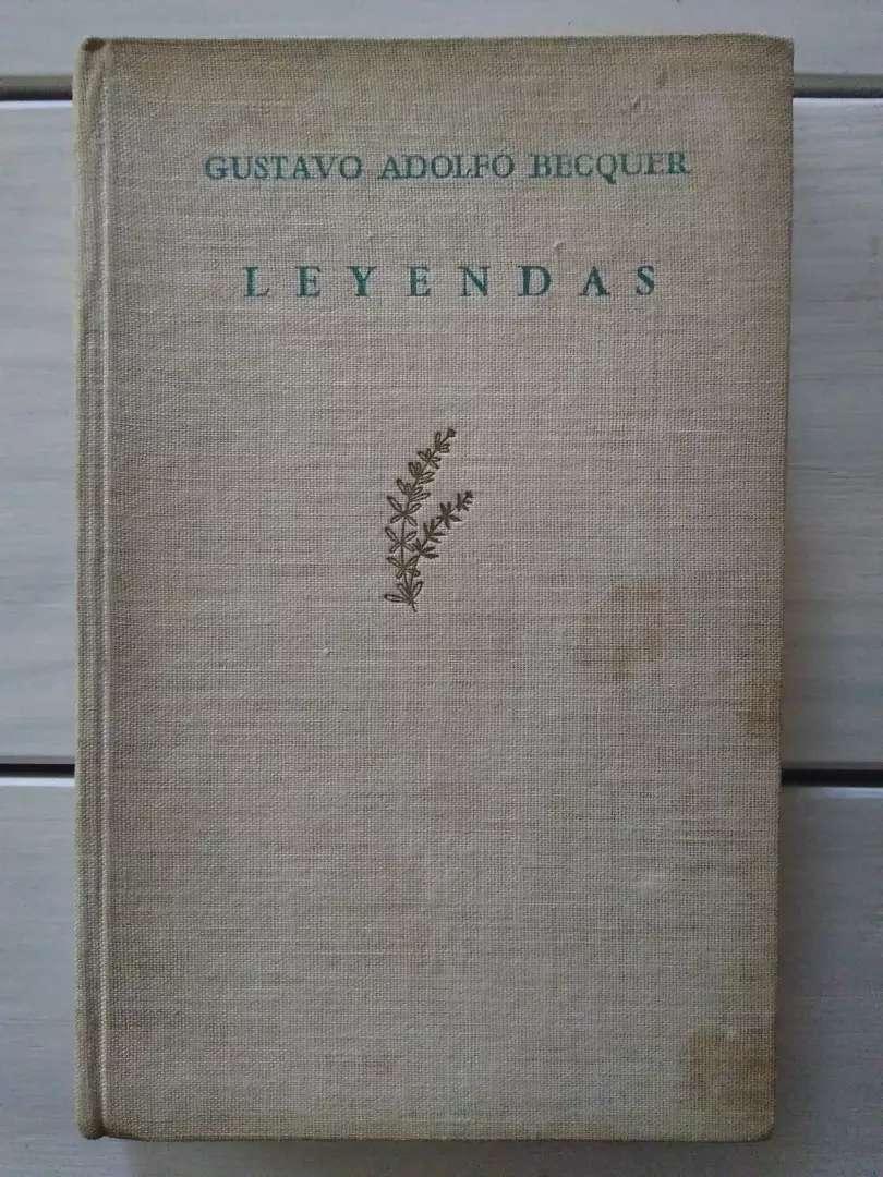 Libro Leyendas Gustavo Adolfo Bécquer (Ver DESCUENTOS) 0