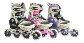 Patines Canariam Patin Semiprofesional Linea Speed Bolt Env
