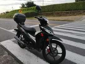 Vendo moto wave honda
