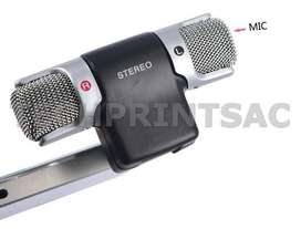 Microfono Stereo Para Celulares Smartphones PC / Laptop