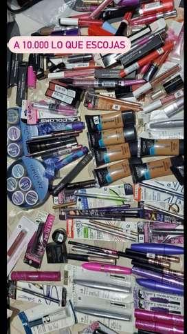 Gran remate de maquillaje 100% original, marcas como MAYBELLINE, MAC, JAY MANUEL, LOREAL, ANASTASIA BEBERLY HILLS y más.