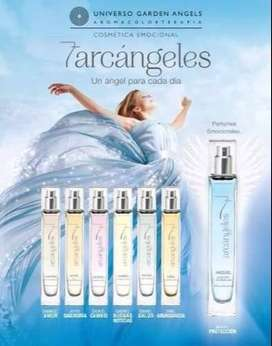 perfumes de los siete angeles para aura protectora