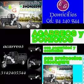 Acarreos y domicilios en Villavicencio