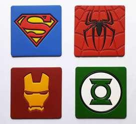 Portavasos Superhéroes