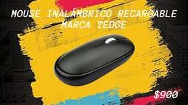 Mouse Inalambrico Recargable Marca Tedge