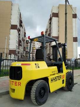 Montacarga HYSTER 4 toneladas