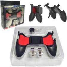 gamepad 5 en 1 perfecto soporte para tu celular, disfruta tus video juegos- gatillos joistick