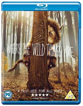 BLUE RAY DONDE VIVEN LOS MONSTRUOS  where the wild things are