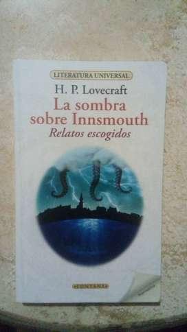 """PIURA: COMPENDIO DE CUENTOS DE H.P. LOVECRAFT - """"LA SOMBRA SOBRE INNSMOUTH""""."""