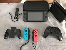 Nintendo Switch con muy poco uso