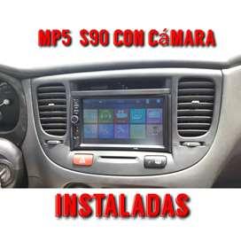 radios para carros únicos doble din INSTALADAS AL MENOR PRECIO