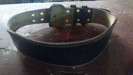 Cinturon para GYM de cuero