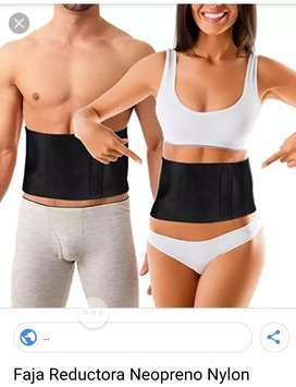 Faja térmica con soporte lumbar