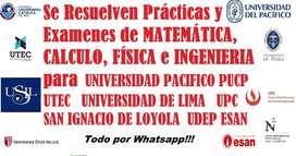 Asesoria en Matemática Fisica Cálculo Gestion de Proyectos Ingeniería Economica