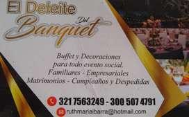 El Deleite Del Banquet - Cenas Navideñas