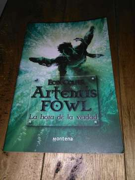 Artemis Fowl . La Hora de La Verdad . Eoin Colfer libro
