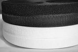 Velcro negro y blanco 1 o 2 o 4 pulgadas