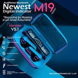 audifonos bluetooth M19