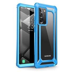 Protector 360 para Samsung Note 20 ULTRA Celeste