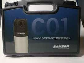 Samson c01 micrófono de condensador