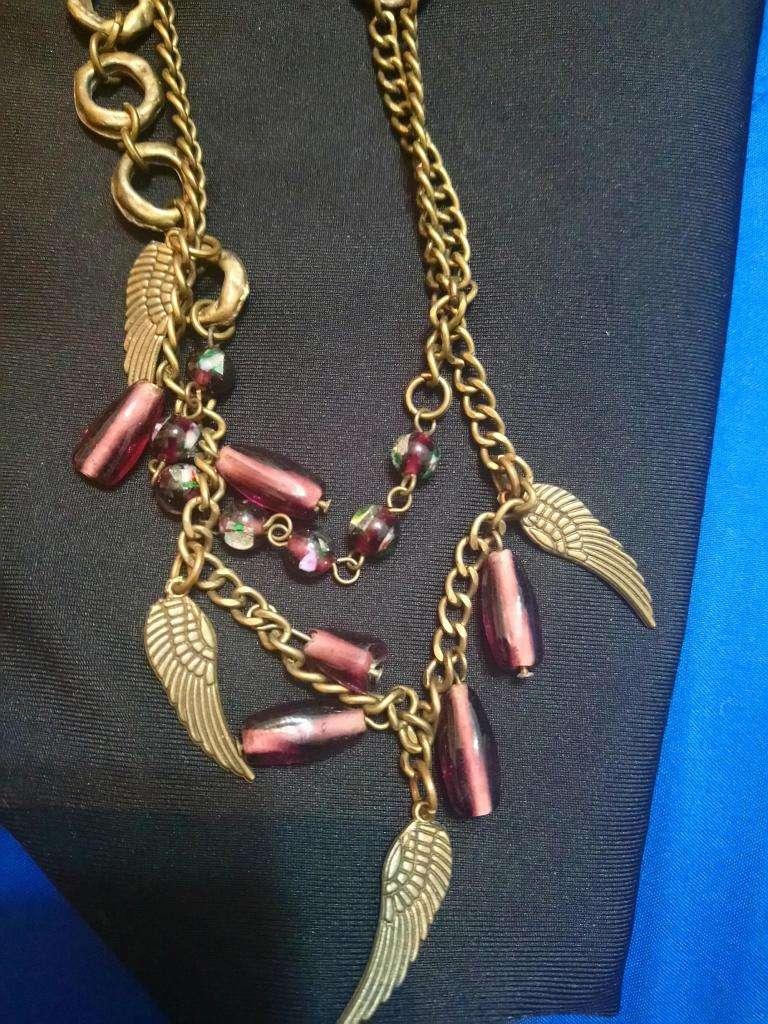 Collares cadenitas usados moderno retro antiguo vintage 0