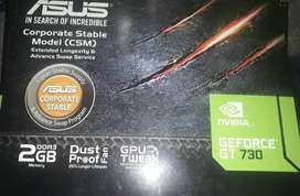 Vendo placa de video asus gtforce 730 2gb ddr3