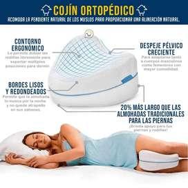 Almohada ortopédica piernas espuma viscoelástica Cojín terapia B-38
