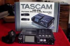 Tascam Hd-p2 Grabadora Estereo Portatil Con Timecode
