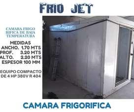 Camara frigorifica de Baja temperatura