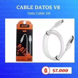 Cable USB entrada V8
