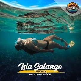 Isla Salango -Montañita