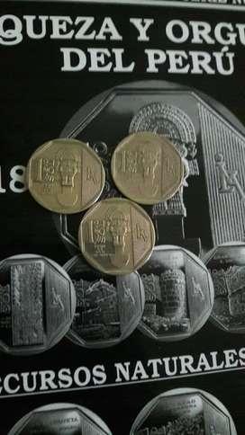 Moneda Tumi Coleccion Riqueza