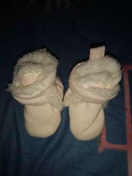 Pantuflas recién nacido nacido