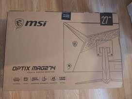 MONITOR GAMER MSI MAG274 IPS, 144HZ, HDR, GAMING OSD