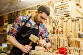 Se requiere carpintero con experiencia