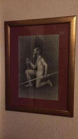 Arte NUÑEZ URETA a Carboncillo, y otros de colección