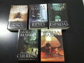 Colección Libros Juego De Tronos (canción De Hielo Y Fuego)