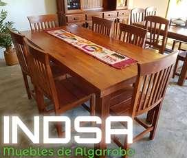 MUEBLES DE ALGARROBO INDSA