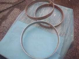 3 aros,33cm,y alto 4cm,para discos de arado( precio por los tres)