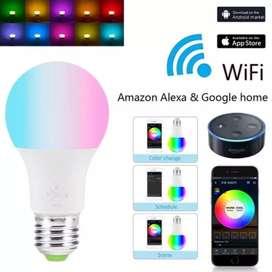 Bombillo Inteligente Wifi Inalámbrico 4.5w Alexa Google Home. ENVIO GRATIS!