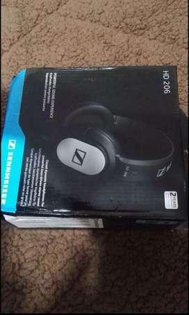 Audifonos profesionales Sennheiser HD 206 nuevos en caja!!!
