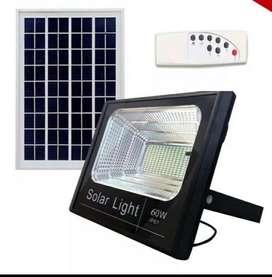 Lampara Solar Reflector 60w Led Panel