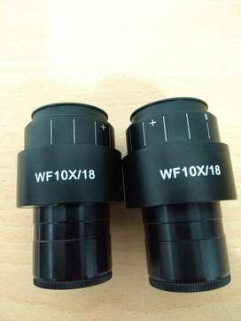 Oculares Pl10x/18 Microscopio Zeiss