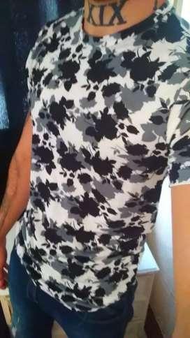 Camiseta de algodón jersey