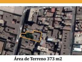 Vendo terreno 373 m2 cerca de Plaza Italia