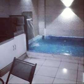 Departamento con piscina privada en Punta Hermosa
